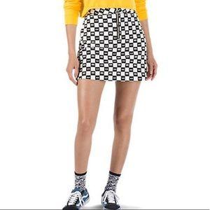 Lazy Oaf x Vans Eye Checkered Skirt